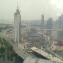 View of Singapore from Singapore Flyer
