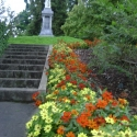 Steps up to Anglican Cathedral, Nelson