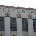 Close up of Daily Telegraph building