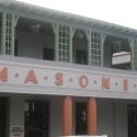 Close up of Masonic building