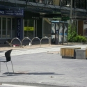 Empty Hereford Street