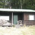 Log cabin near Kinloch Lodge