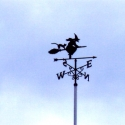 A witch's wind vane