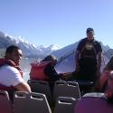 On boat, Glacier Explorer Tour