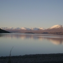 Lake Tekapo at sunset