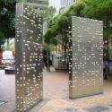 Braille art piece, Wellington