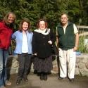 Martina & friends at Kaitoke National Park