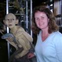 Martina & Gollum, Weta Cave