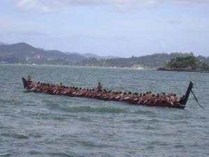 Nga Toki, largest canoe in New Zealand