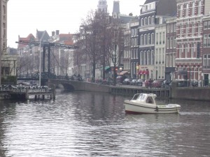 Bridge near Hotel de L'Europe, Amsterdam