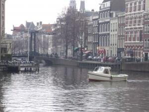 Bridge near Hotel de L'Europe, Amsterdam