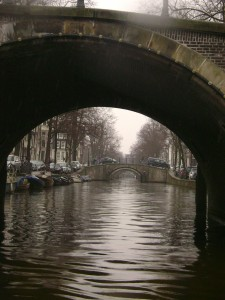Reguliersgracht and its seven bridges.