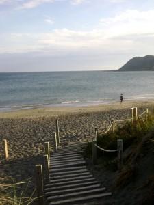 Lyall Bay Beach