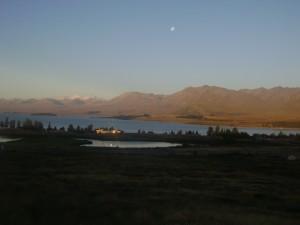 Lake Tekapo at dusk