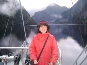 Martina onboard Fjordland Navigator