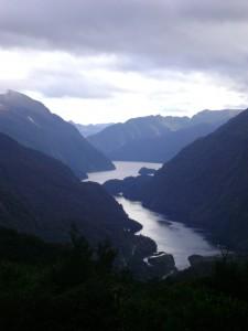 View of Wilmott Pass, Fjordland