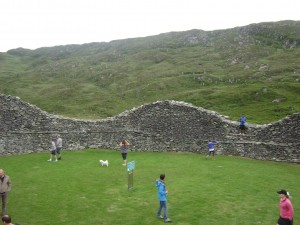 Inside Staigue Fort, Kerry