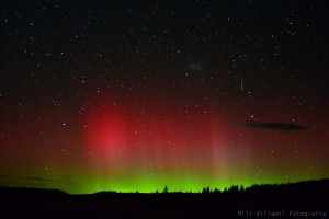 Milli Villamill's aurora photo April 2015