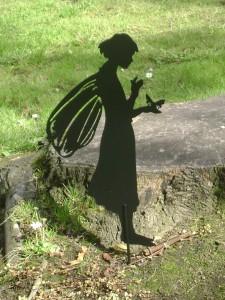 Garden fairy, Edinburgh
