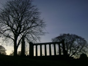 At Calton Hill