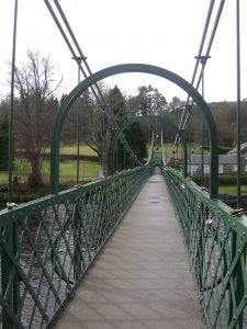 The Suspension Bridge, Pitlochry