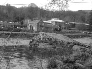 View of Festival Theatre on Tummel River