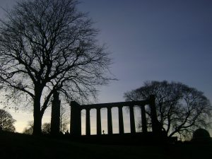 Up at Calton Hill, Edinburgh