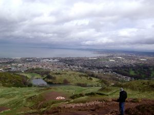 View from top of Arthur's Seat