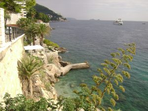Coastline of Dubrovnik
