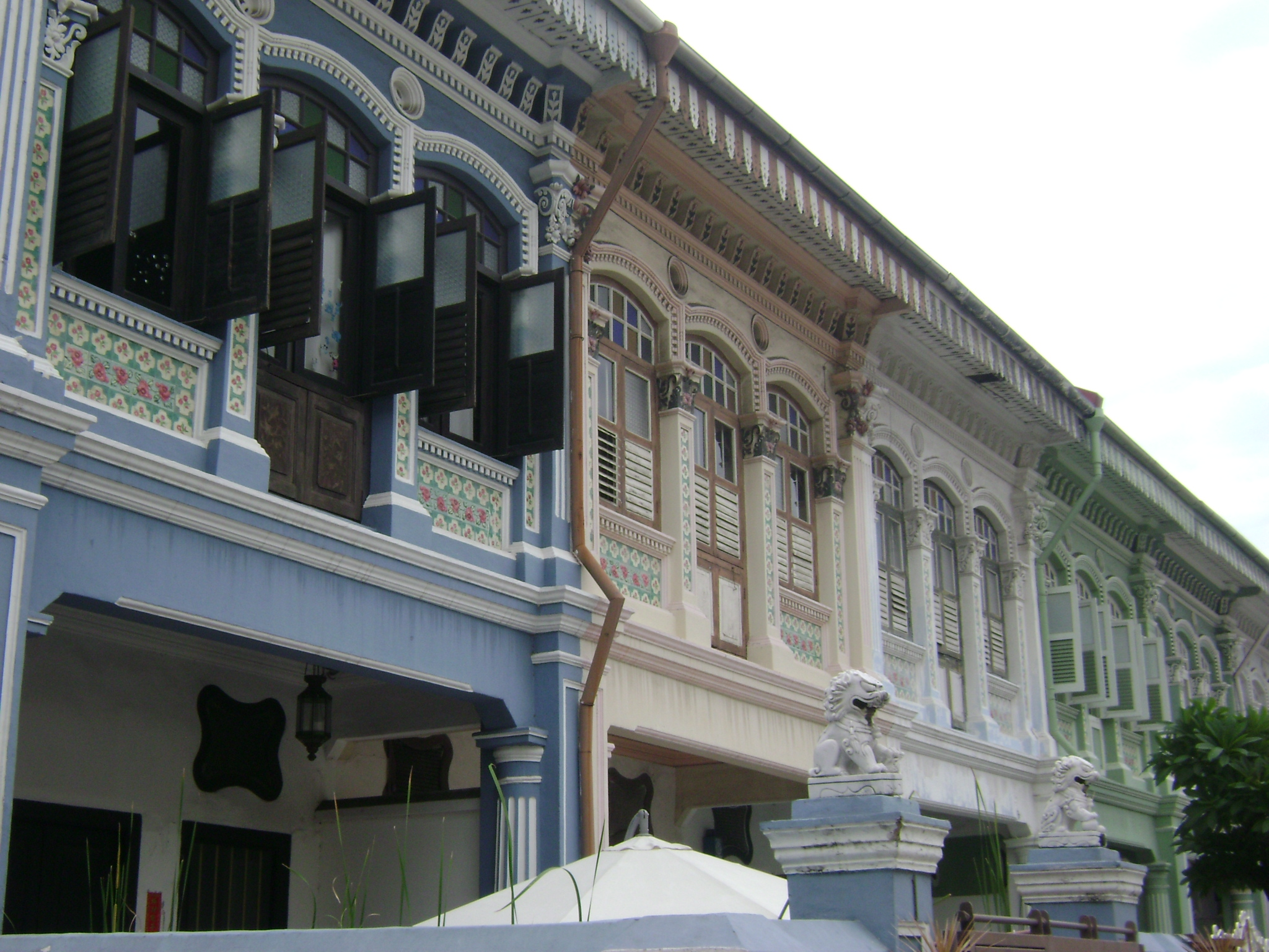 Heritage Shophouses, Joo Chiat, Singapore