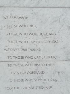 Wall of Remembrance Memorial Text, Christchurch