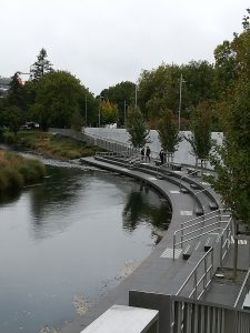 Wall of Remembrance, Avon River, Christchurch