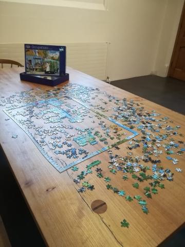 Unfinished Jigsaw, Arts Centre, Christchurch