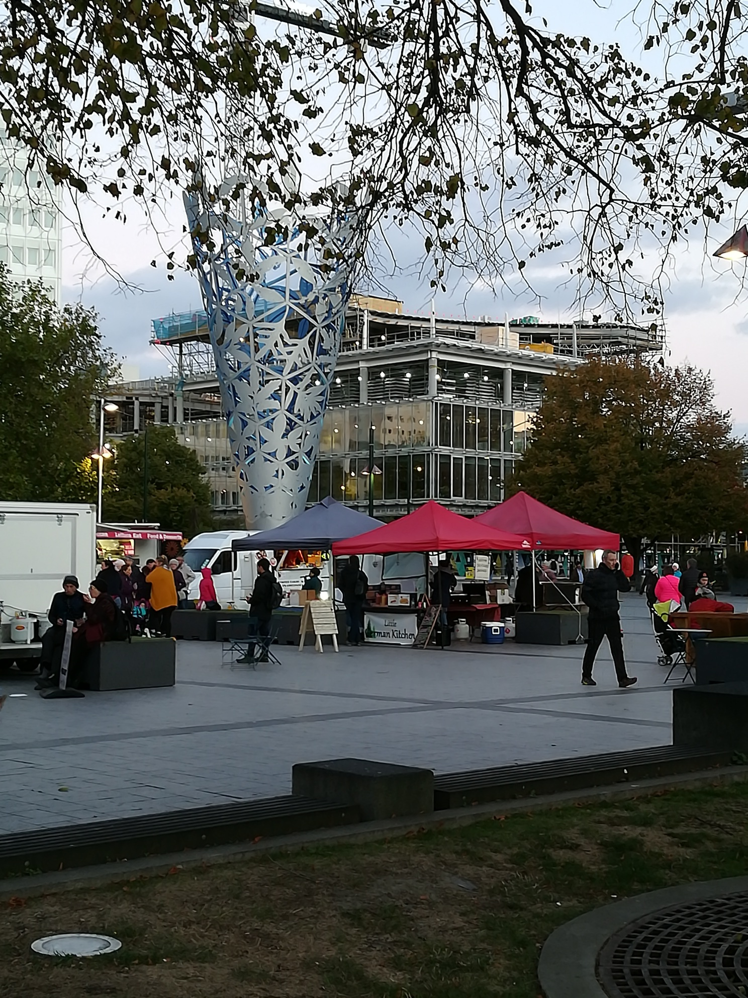 Millenium Cone, Cathedral Square, Christchurch