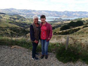 Lesley and I, near Akaroa