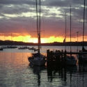 sunset-on-russell-harbour-nth-island-nz