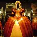 Dress made of wood, WOW Arts Show