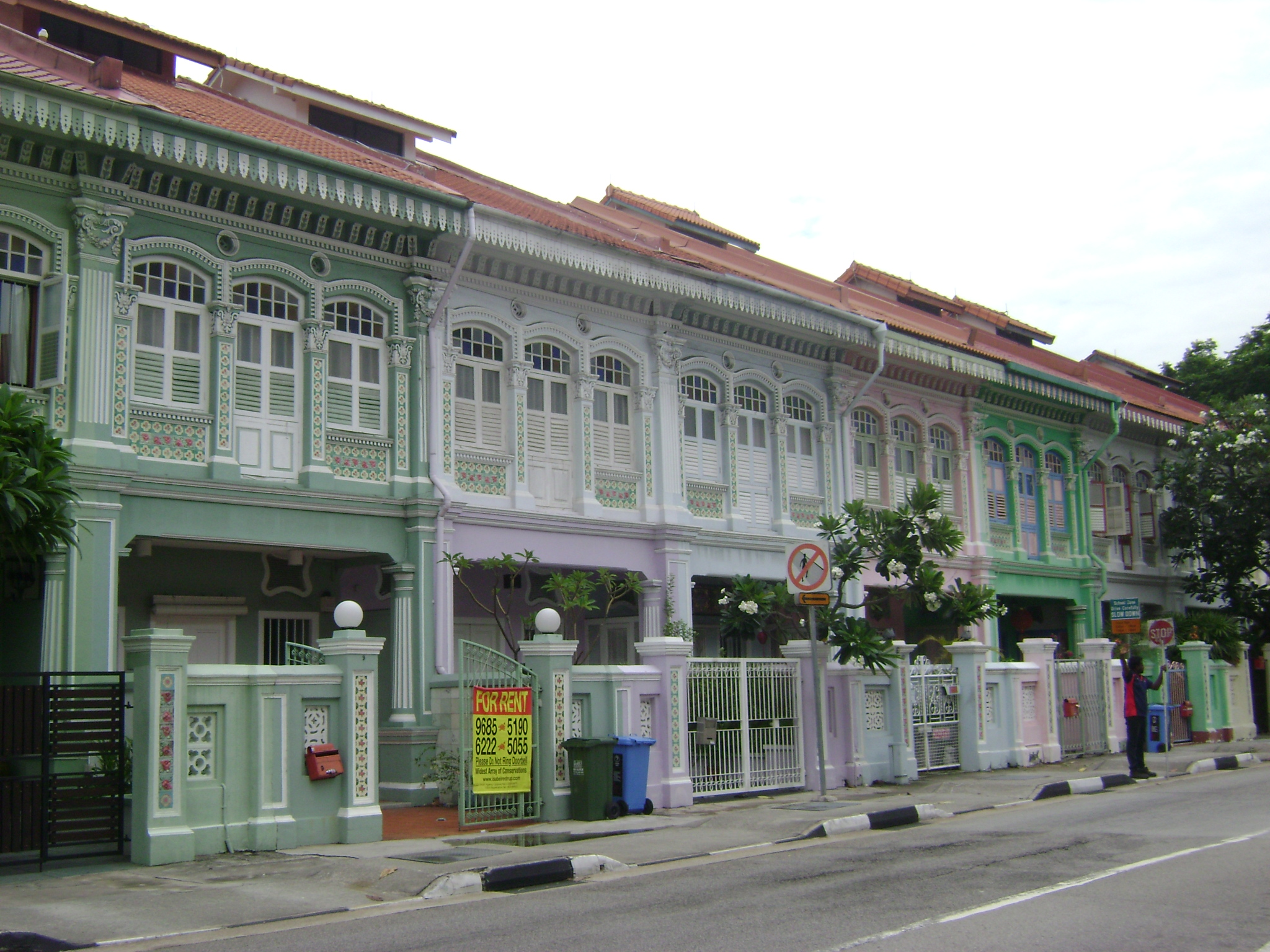 Heritage Shophouses Number 2, Joo Chiat, Singapore