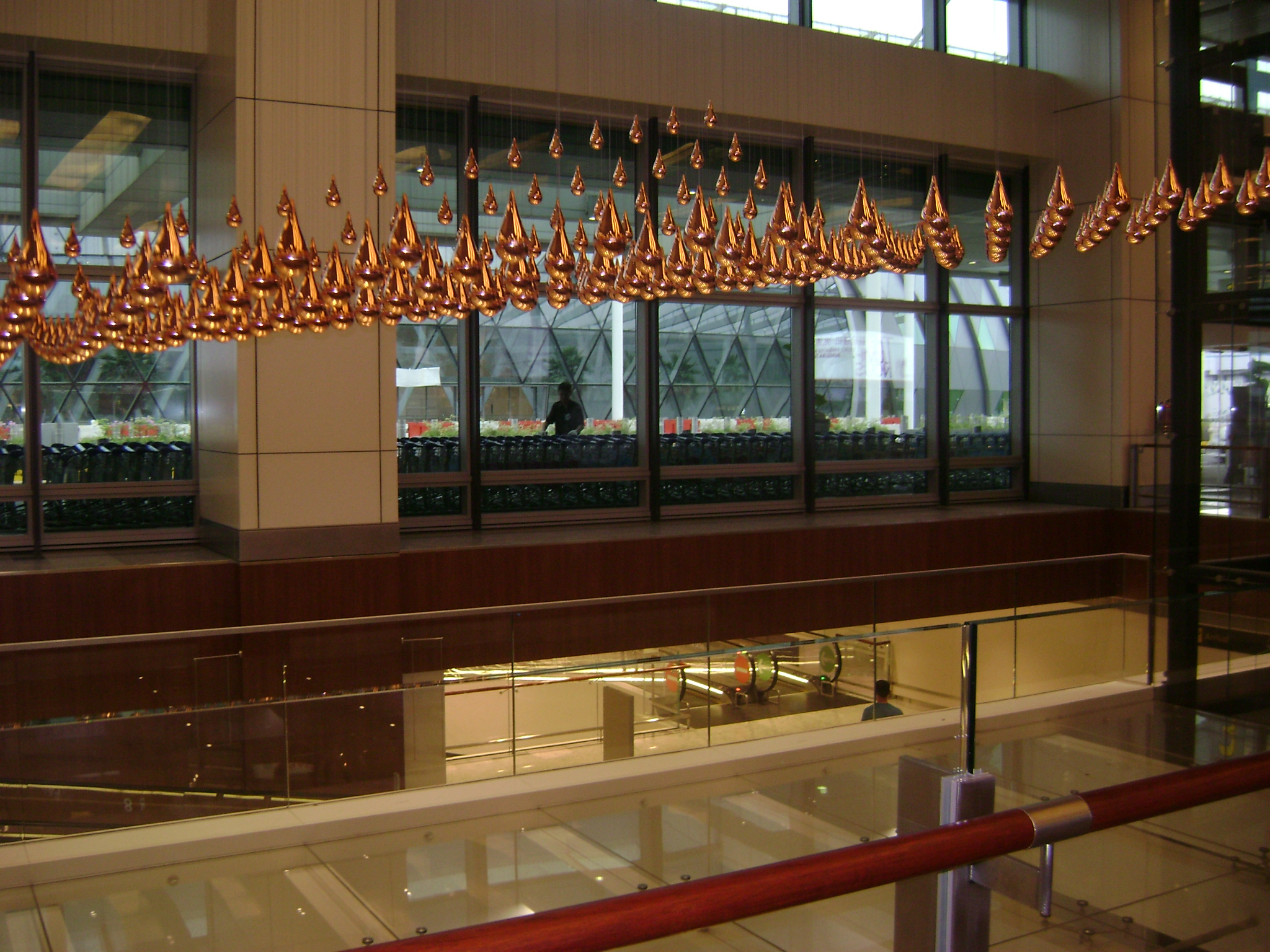 Kinetic Rain (Number 2), Singapore Airport
